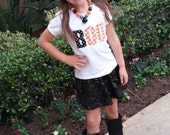 BOO Halloween Shirt for Boy or Girl ... Infant Toddler Youth Children ... You Choose Shirt Color - Polka Dot BOO Shirt Siblings