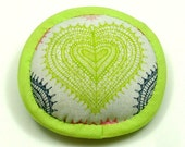 Catnip Toy Valentine's Day GREEN HEART