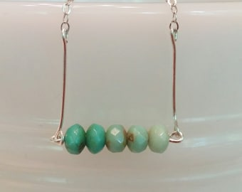 Teal Ombre Necklace