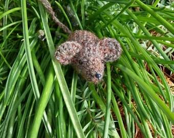 Tiny Sugar Mice Crochet Pattern