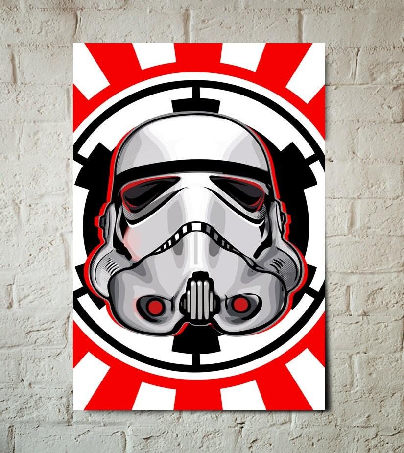 Star Wars Stormtrooper Art Print Star Wars Poster Star