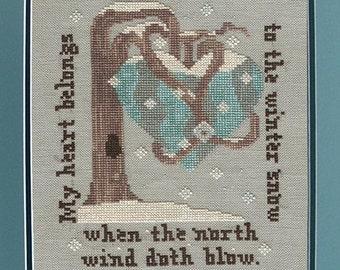 My Winter Heart PDF Cross Stitch