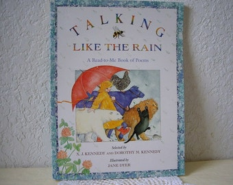 Book: Talking Like The Rain, A Read to Me Book of Poems, Unused, 1992.