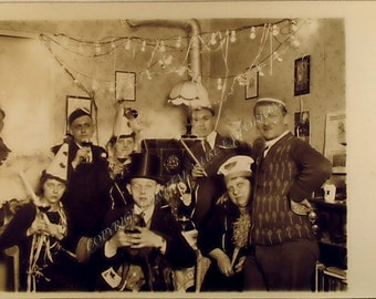 We know how to party Instant Download Vintage Photograph