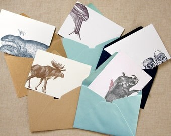 A Year's Worth of Greetings (a collection of 5 letterpress printed cards & envelopes to suit almost any occasion that 2016 should bring)