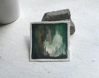 7.12.2016 - watercolor - painting - art - miniature