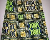 Per Yard, Olive Green color Supreme Wax Holland African fabric/Ankara wax print/ Holland wax prints/ Supreme Holland fabrics
