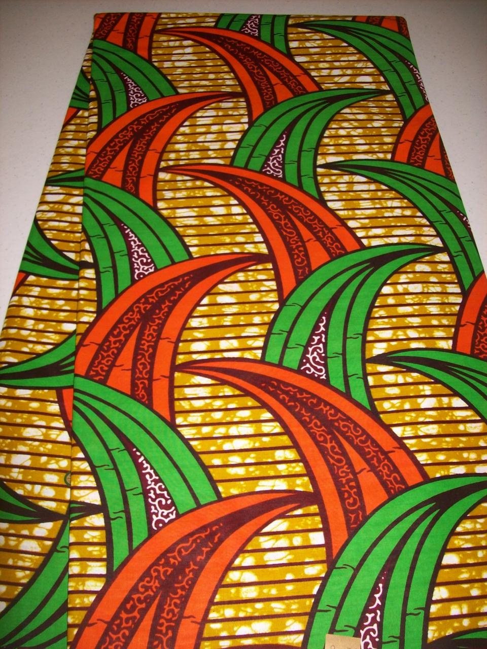 Latest design african fabric per yard african print fabrics for Wholesale fabric
