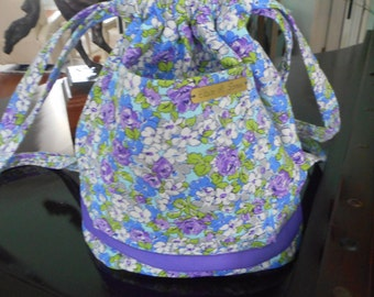 summer backpack  flowers backpack