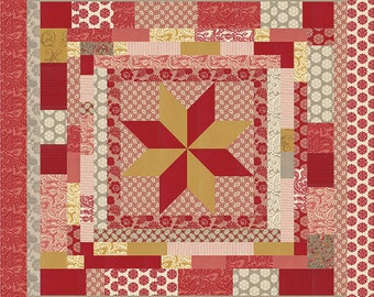 Madame Rouge - Soiree Francaise Quilt Pattern by French General