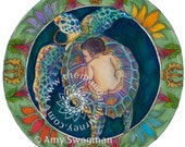 "Sticker - ""Precious Human Birth"" Mandala"