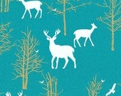 Changing Pad Cover - Timber Valley Teal - Contoured Changing Pad Cover