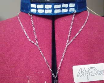 Doctor Who TARDIS choker