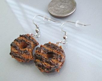 Girl Scout Cookie Earrings