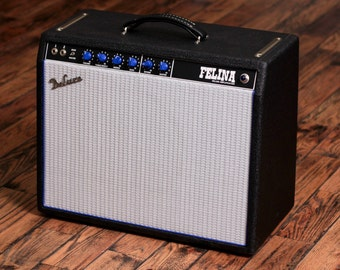 "Deluxe Amplification Handwired 22 watt Guitar Amp ""Felina"""