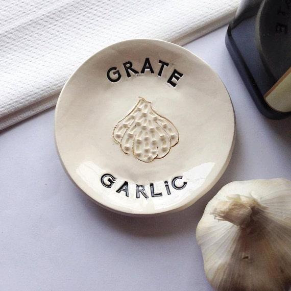 Small Kitchen Gift Ideas: Garlic Grater Small Grater Kitchen Gift Grater Gift