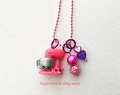 Shopkin Charm Necklace Mixie & Maxie Season 3