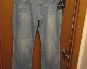 Vintage Jordache Jeans with Original Tags on Size 13/14