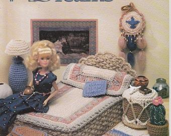 Crochet Pattern Bedroom Furniture Desert Dreams by Annie's Attic Leaflet 544B