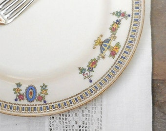 Vintage Lenox The Colonial Salad Plate Antique China Dinnerware