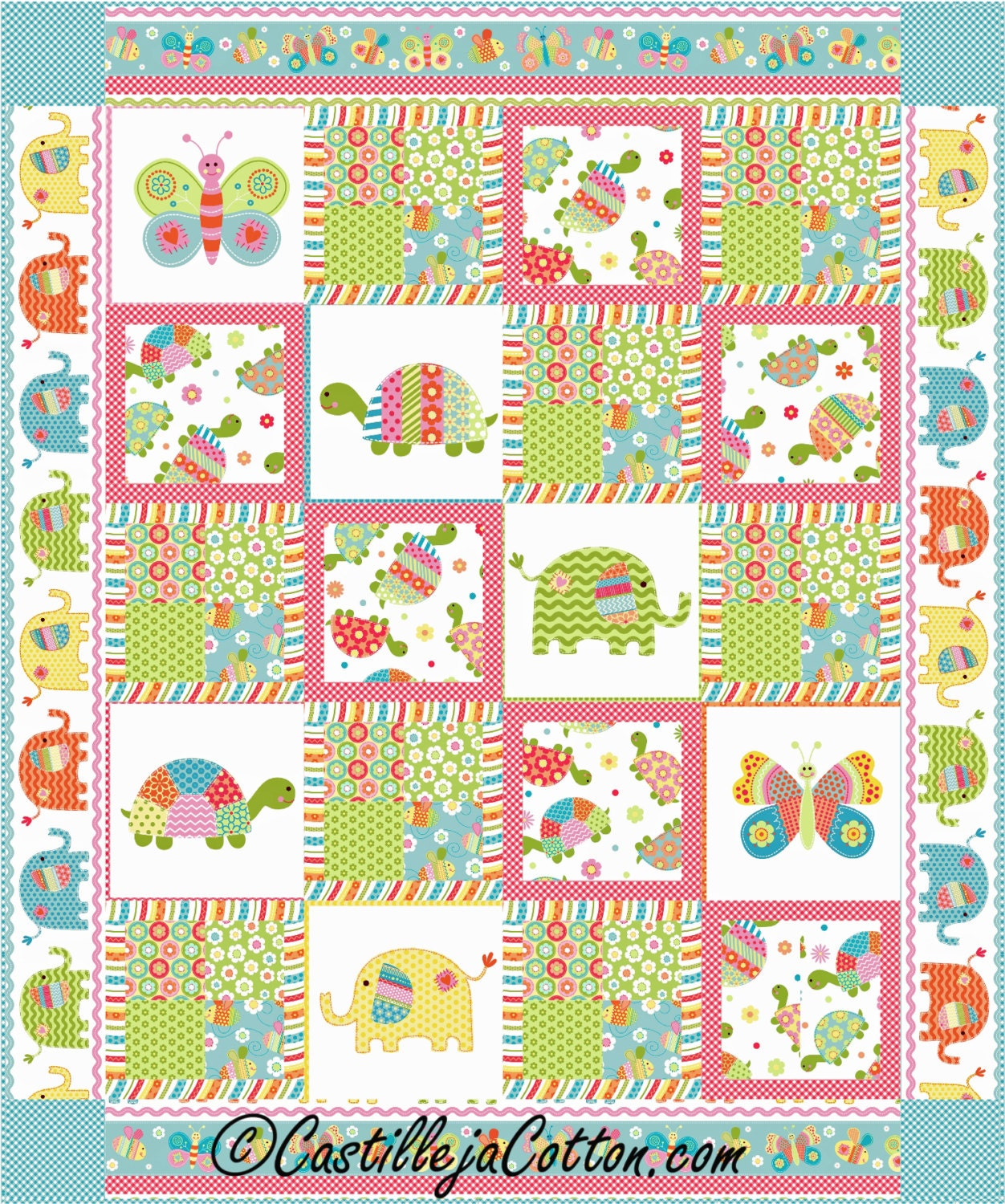 Bundle of love quilt epattern 4946 1 child 39 s quilt for Childrens fabric bundles