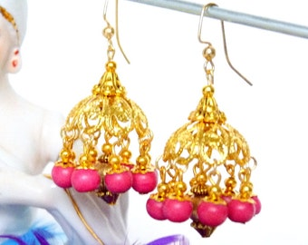 SALE!! Golden Pomegranate Jhumkas SALE!!