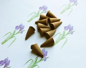 Iris Scented Cone Incense - Incense Cones - Aromatherapy - Aroma - Essense - Home Decor - Gift for Adults