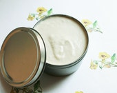 Patchouli Whipped Body Butter - Scented Vegan Whipped Shea Butter - Natural Body Butter - Whipped Lotion - Coconut Oil