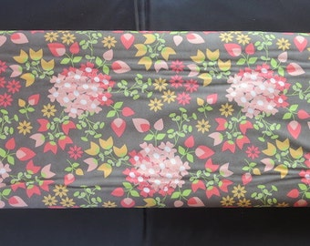 Moda  Dark Taupe - Sundrops 29010 15 - Corey Yoder Floral Bouquet Grey