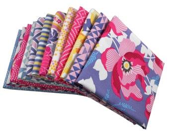 HALF YARD Bundle - ATRIUM (Fuchsia Palette) - Joel Dewberry for Free Spirit Fabrics - 13 pcs
