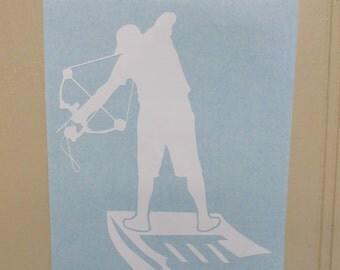 Bowfishing Decal, Bow Fishing Decal, Bowfishing Sticker, Bowfishing, Bow Fishing, Vinyl Decal
