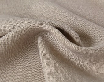 Burlap Fabric / Pale Ash / Sold by the Yard