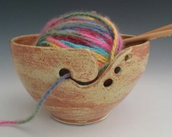 Made to Order - Sunny Yellow Yarn Bowl