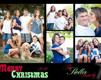 CH 5 - Photo Christmas Card (25 per set)