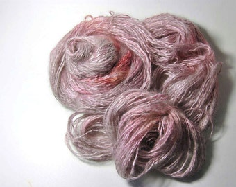 Silk Halo in Taupe Roses - One of a Kind