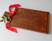 French Vintage Cutting Board from Provence