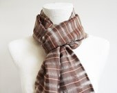 The Best Quality Willow Fibers and Silk Handwoven Scarf - Fast Shipping with FedEx
