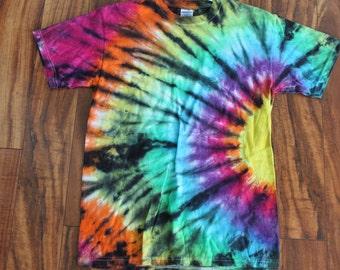 Tie dye Sunburst tee shirt size Medium