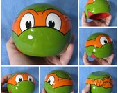 Ninja Turtle Ceramic Bowl (Made to Order and Customizable)