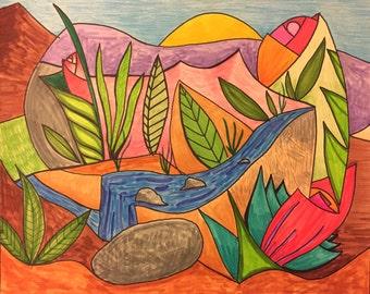 Desert landscape #4
