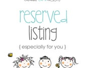 Reserved listing for lrusso1990 - 7 books + crayons