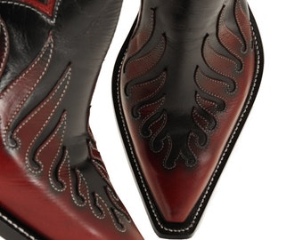 Leather Boots, Cowboy Boots:  Viking Z Boots