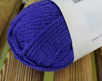 WORSTED Weight Yarn - #3293 - Wool Alpaca Mohair -  Classic Elite Yarns Color by Kristin - 50 g 93 yards