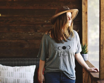 Live by the Moon Slouchy Tee