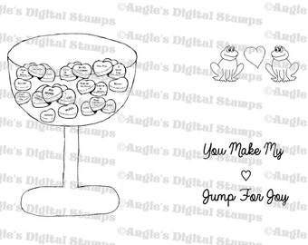Valentine's Day Digital Stamp Set #2