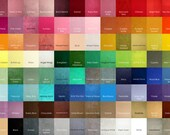 6 Sheets 12 x 12 in. - Wool Blend Felt Squares - Your Choice of Colors