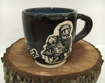 Love & Zombies Handmade Ceramic Mug
