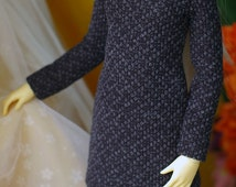knit one-piece set for SD10, SD13 super dollfie girl, Luts, Volks, 1/3 doll girl