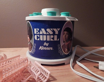 Vintage Kenner's Easy Curl Quick Hair Setting Kit