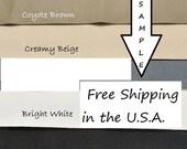 Non Slip Fabric - Toughtek - Neoprene - Waterproof - Shoe Fabric - Grip Fabric - Shoe  Supplies -Sample Card - All 5 Colors
